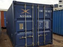 Морской контейнер 20 футов Dry Cube (стандартный), бу XINU-1599424