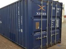 Морской контейнер 20 футов Dry Cube (стандартный), бу XINU-159947-1